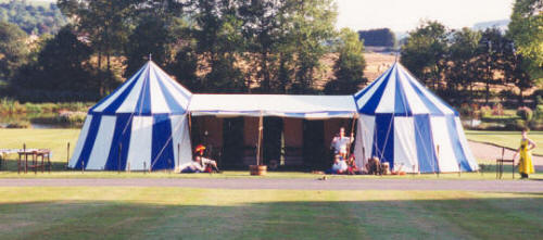 medieval tent and marquee hire